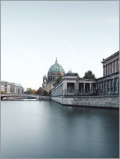 Foam board print  Berliner Dom in the evening - Philipp Dase