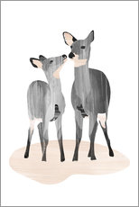 Wall sticker Dear deer