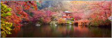 Canvas  Japanese garden - Art Couture