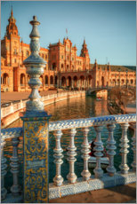 Canvas print  Plaza de Espana in the evening light - Sören Bartosch