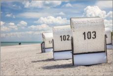 Forex  Everything knows - beach chairs, clouds and sand - Christian Müringer