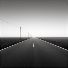 Foam board print  Road to nowhere - Thomas Wegner