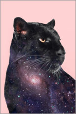 Acrylic glass  Galaxy Panther - Jonas Loose