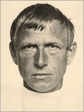 Foam board print  Otto Dix - Hugo Erfurth