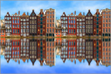 Canvas print  Reflected Amsterdam - George Pachantouris