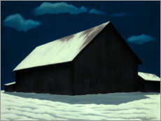 Wall sticker  January full moon - George Ault