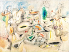 Gallery print  Good Afternoon, Mrs. Lincoln - Arshile Gorky