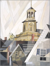 Wood print  After Sir Christopher Wren - Charles Demuth