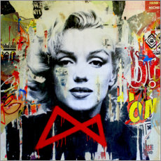 Canvas print  Marilyn - Michiel Folkers