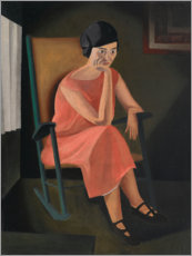 Premium poster  Miss Whiting - George Ault