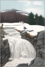Wall sticker  Brook in the Mountains - George Ault