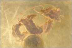 Premium poster  Dance of the hours - Gaetano Previati