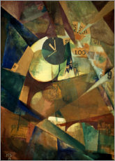 Premium poster  The big ego picture - Kurt Schwitters