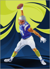 Wall sticker  American Football - Nikita Abakumov