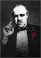 Wood print  The Godfather - Nikita Abakumov
