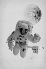 Wall sticker  Astronaut in space - NiMadesign