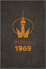 Premium poster Berlin 1969 - TV Tower