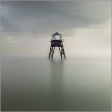 Wood print  Dovercourt Lighthouse, Essex - Simon J. Turnbull