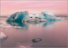 Gallery print  Icebergs in Iceland - Simon J. Turnbull
