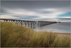 Aluminium print  Steetley Pier in Hartlepool - Simon J. Turnbull