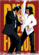 Foam board print  Pulp Fiction Dance - Nikita Abakumov
