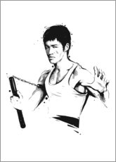 Wall sticker  Bruce Lee - Tompico
