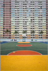 Canvas print  Urban jungle in Hong Kong - Dennis Fischer
