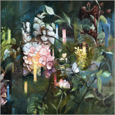 Acrylic print  Secret garden - Johnny Morant