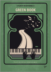 Premium poster No1039 My Green Book minimal movie poster