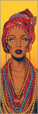Wood  African woman - Paola Morpheus