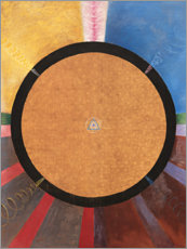 Wood print  No. 3, Altarpiece - Hilma af Klint
