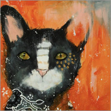 Acrylic glass  Cat Cleo - Micki Wilde