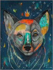 Gallery Print  King Wolf at dusk - Micki Wilde