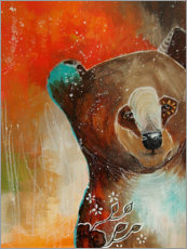 Premium poster Little bear with big dreams