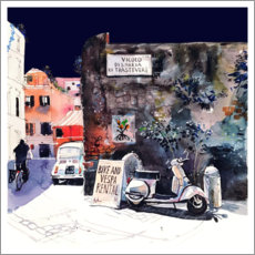 Wall sticker Trastevere Rome