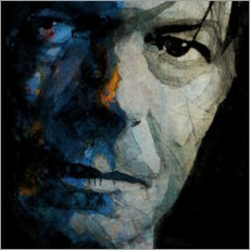 Acrylic print  Chameleon - David Bowie - Paul Lovering