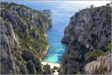 Canvas print  Calanque of Marseille - Vincent Xeridat