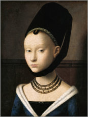 Wall sticker  Portrait of a young woman - Petrus Christus
