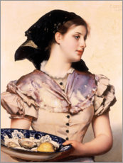 Forex  The oyster girl - Karl Gussow