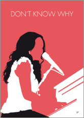 Premium poster No252 MY Norah Jones Minimal Music poster