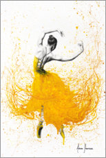 Acrylic print  Daisy Yellow Dancer - Ashvin Harrison