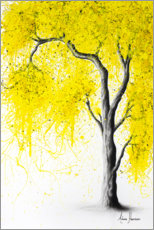 Premium poster Fall Tree Yellow