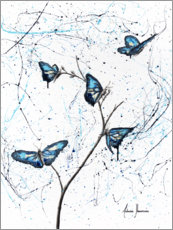Canvas print  Butterflies - Ashvin Harrison