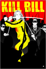 Foam board print  Kill Bill - Paola Morpheus