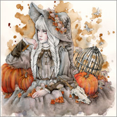 Gallery print  The Gray Witch - Enys Guerrero