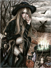 Premium poster  The Season Of The Witch - Enys Guerrero