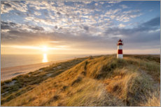 Premium poster Lighthouse List East on Sylt
