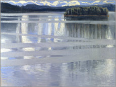 Canvas print  Lake Keitele - Akseli Gallen-Kallela