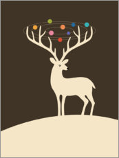 Canvas print  My Deer Universe - Andy Westface