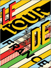 Wall sticker  The Tour de France - Wyatt9